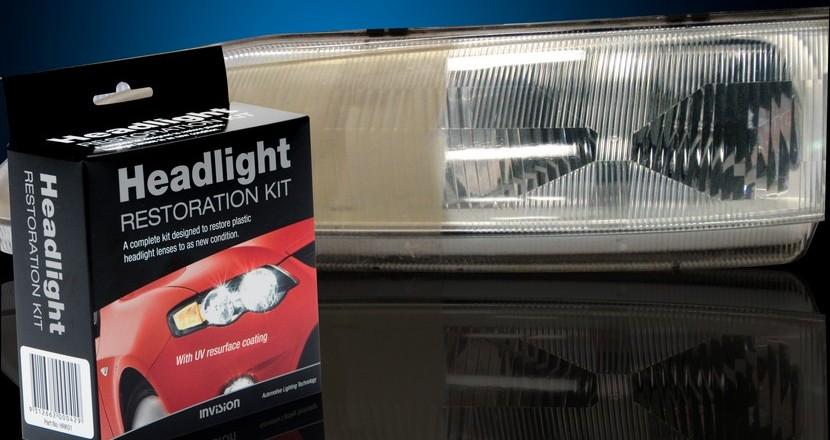 Polishing headlights kit