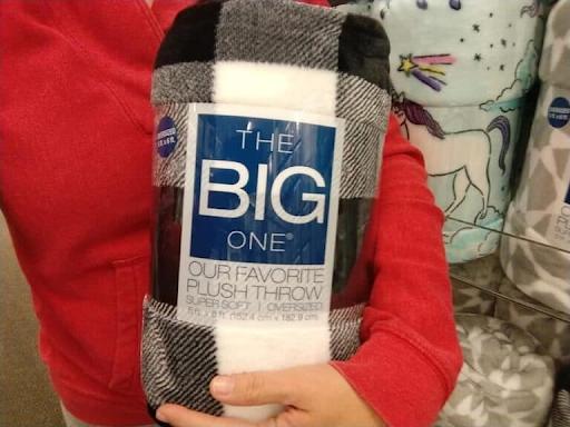 Big One Plush Throw
