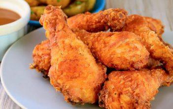 Chicken prepared in Air Fryer