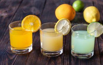Citrus juices intake
