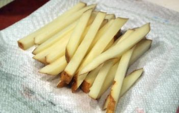 Start cooking fries in an Air Fryer