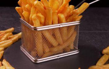 Fries in an Air Fryer basket