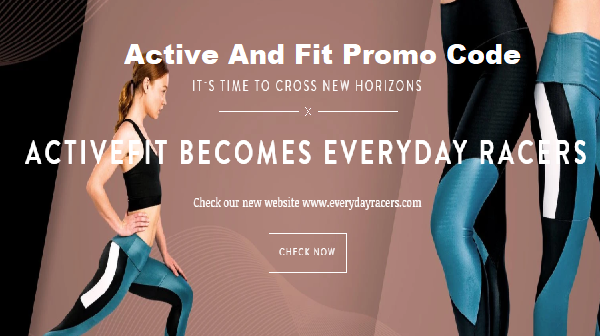 Active and Fit promo code