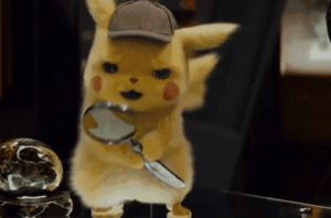 Detective Pikachu from Pokémon Detective Pikachu