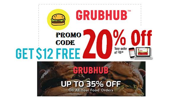 Grubhub promo code first order
