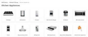Select Product at Houzz