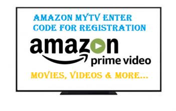 Amazon mytv enter code for registration