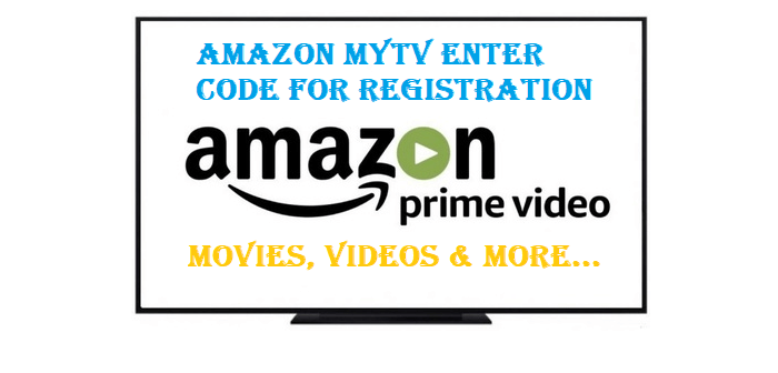 Amazon mytv enter code for registration