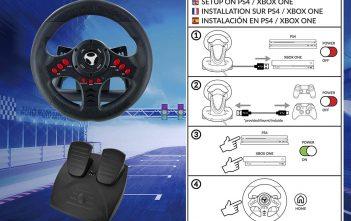 Subsonic SA5426 Xbox Racing Wheel