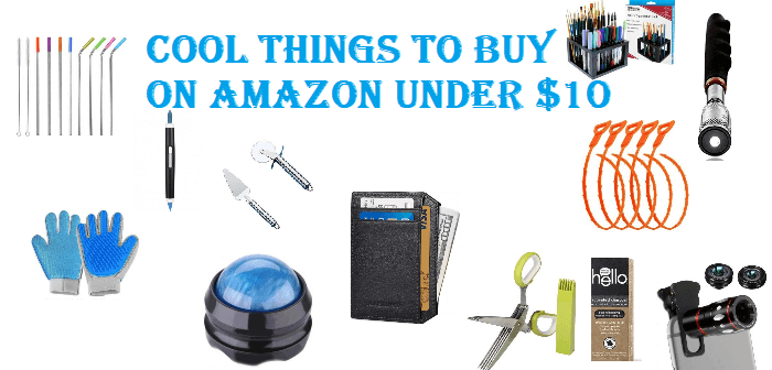 Cool Things to Buy on Amazon Under $10