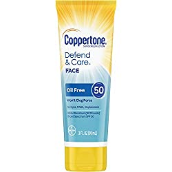 Coppertone Defend & Care Ultra Hydrate Whipped SPF 50