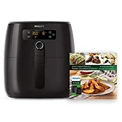 Philips HD9741 99 Air Fryer, X-large, Black, 2lbs