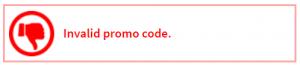invalid roblox promo code
