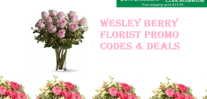wesleyberryflorist coupon
