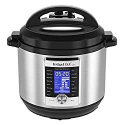 Instant Pot Ultra, 10-in-1 Electrical Pressure Cooker, 6-Quart