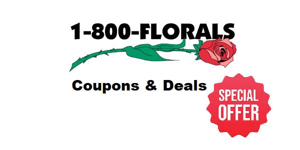 1-800-FLORALS COUPON