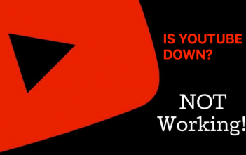 IS YOUTUBE DOWN