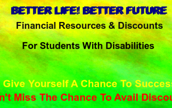 Financial resources for disabled students