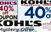 Kohl's Mystery Coupon Code