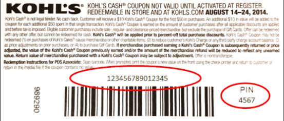15 digit redemption code