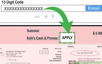 Kohl's cash online coupon
