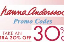 Hanna Andersson coupon