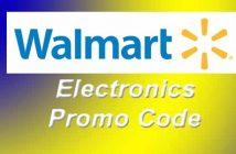 Walmart Electronics Promo Code