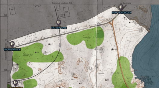 list of all the Woods Map Extraction points