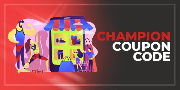 Champion coupons