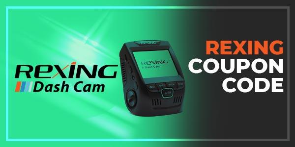 Rexing coupon code