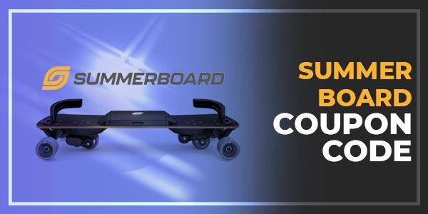 Summerboard coupon code